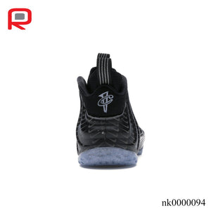 Air Foamposite One All-Over Swoosh Black Shoes Sneakers