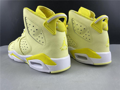 Image of AJ 6 Retro Dynamic Yellow Floral (GS) Shoes Sneakers