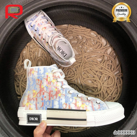 Image of CD B23 High Top Oblique Shoes Sneakers