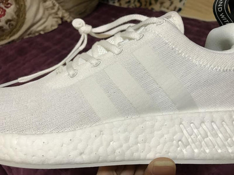 Image of NMD R2 Crystal White Shoes Sneakers