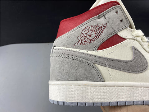 Image of AJ 1 Mid Shoes Sneakersnstuff 20th Anniversary Shoes Sneakers