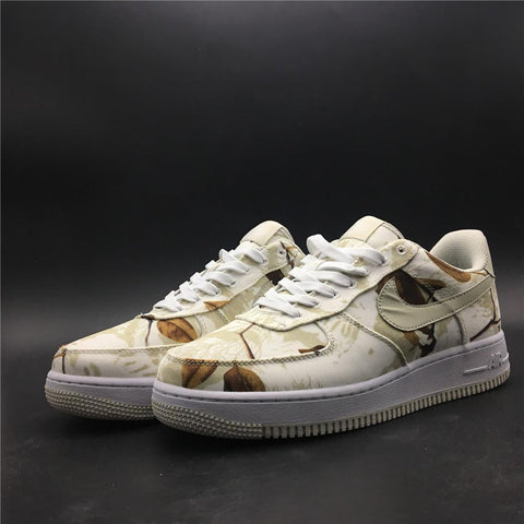 Image of AF 1 Low Realtree White Shoes Sneakers