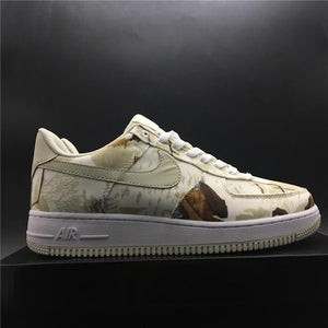 AF 1 Low Realtree White Shoes Sneakers