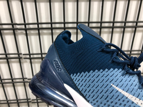 Image of AM 270 Flyknit Work Blue Shoes Sneakers