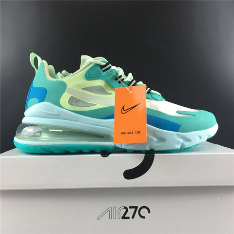 Image of AM 270 React Hyper Jade Shoes Sneakers