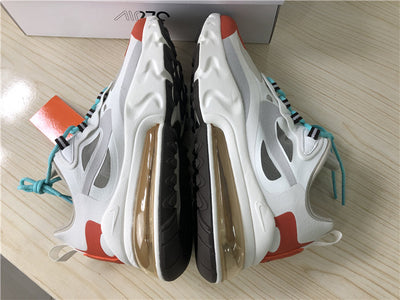 AM 270 React Light Beige Chalk Shoes Sneakers
