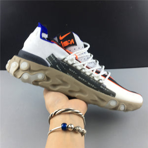 ISPA React Low Summit White Shoes Sneakers