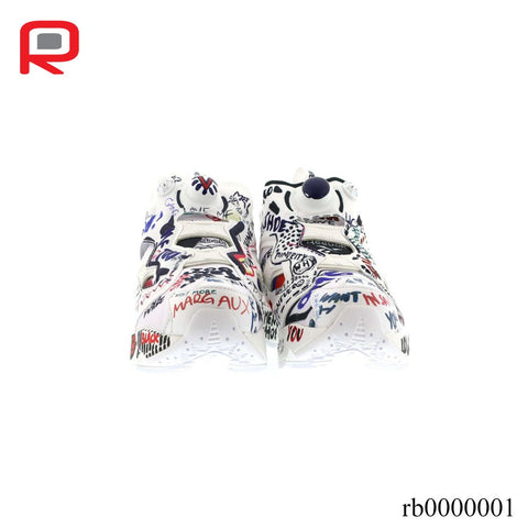 Image of RB Instapump Fury Vetements Doodle Shoes Sneakers