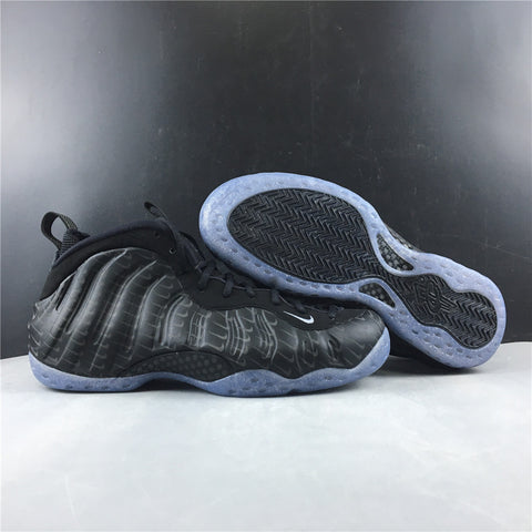 Image of Air Foamposite One All-Over Swoosh Black Shoes Sneakers