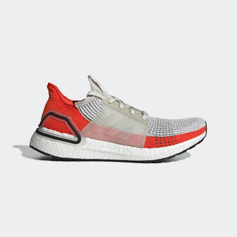 Image of Ultra Boost 19 Raw White Active Orange Shoes Sneakers