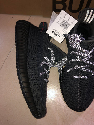 Image of YzY Boost 350 V2 Black (Non-Reflective) Shoes Sneakers