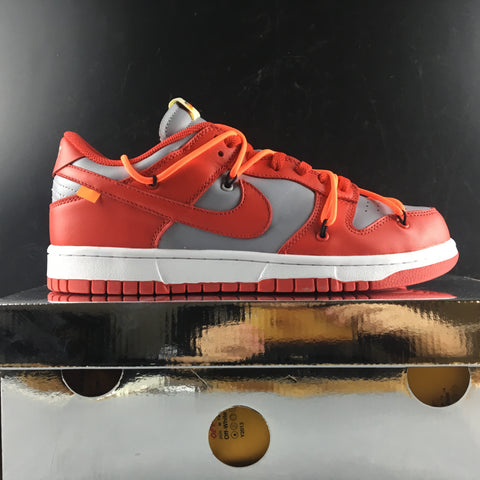 Image of Dunk Low OW University Red Shoes Sneakers