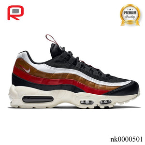 AM 95 Pull Tab Black Brown Shoes Sneakers
