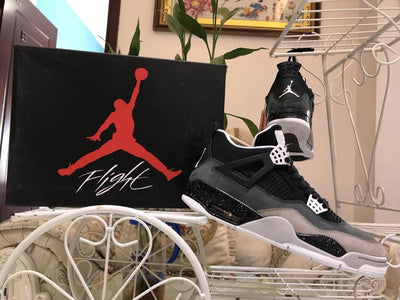 AJ 4 Retro Fear Pack Shoes Sneakers
