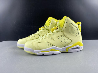 AJ 6 Retro Dynamic Yellow Floral (GS) Shoes Sneakers