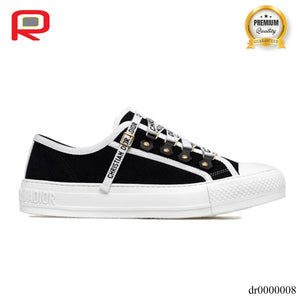 Dior Walk'N'Dior Low Top Black Canvas (W)