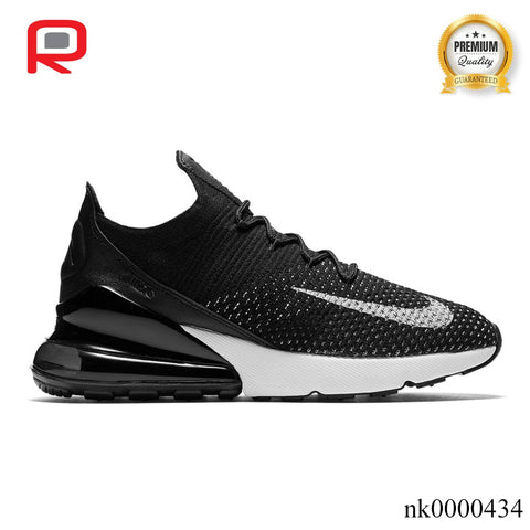 Image of AM 270 Flyknit Black White (W) Shoes Sneakers