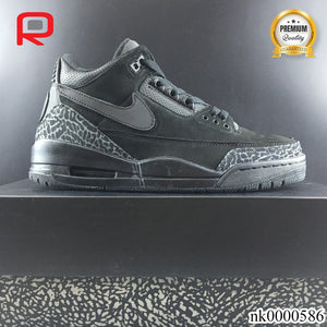 AJ 3 Retro Tinker Black Cat Shoes Sneakers