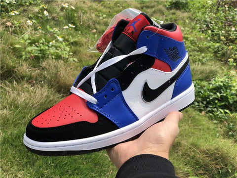Image of AJ 1 Mid Top 3 Shoes Sneakers