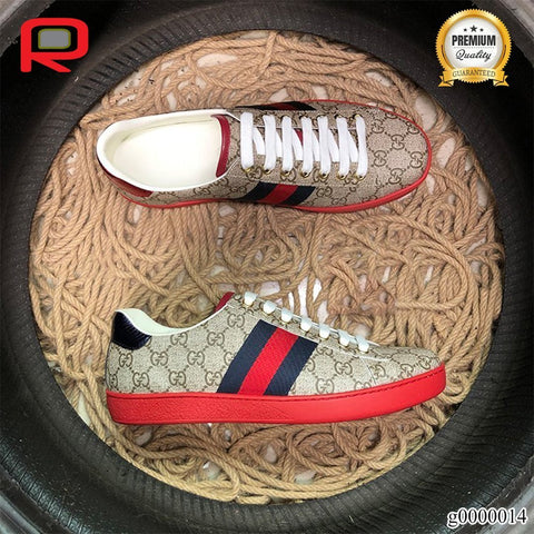 GG Ace GG Supreme Red Shoes Sneakers