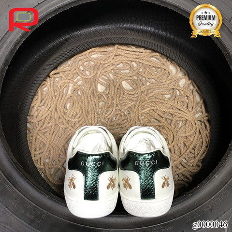 Image of GG Ace Bees and Stars Shoes Sneakers