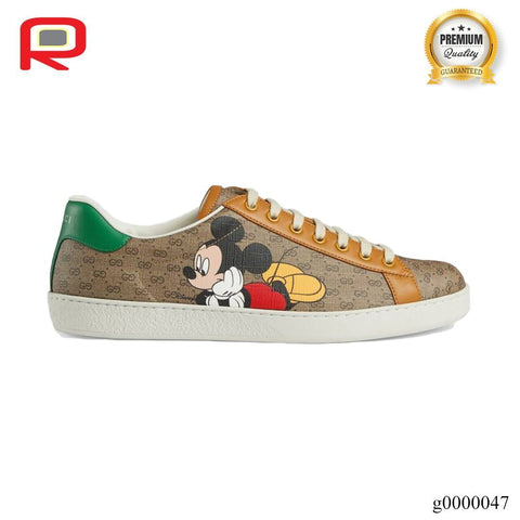 Image of GG Ace x Disney Shoes Sneakers