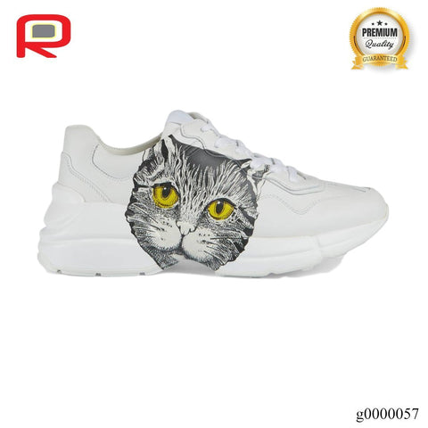 Image of GG Rhyton Mystic Cat White (W) Shoes Sneakers