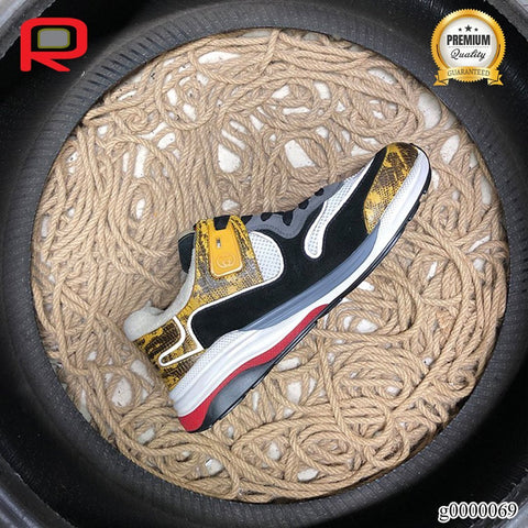 Image of GG Ultrapace Yellow Shoes Sneakers