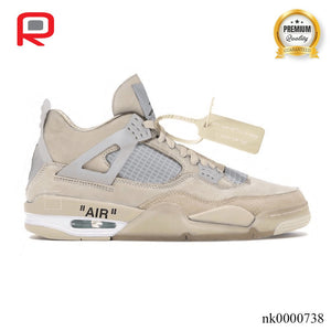 AJ 4 RETRO x OW Shoes Sneakers