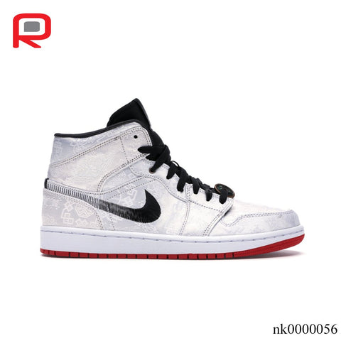 Image of AJ 1 Mid SE Fearless Edison Chen CLOT Shoes Sneakers
