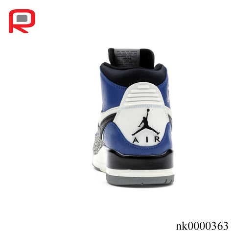 Image of AJ Legacy 312 Storm Blue Shoes Sneakers