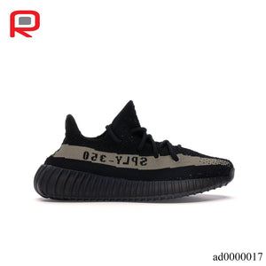 YzY Boost 350 V2 Core Black Green Shoes Sneakers