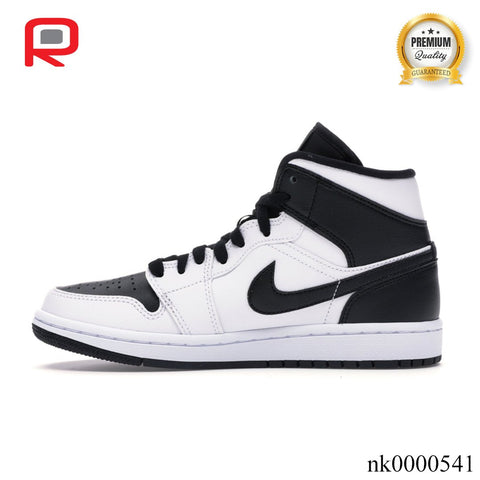 Image of AJ 1 Mid Reverse Black Toe (W) Shoes Sneakers