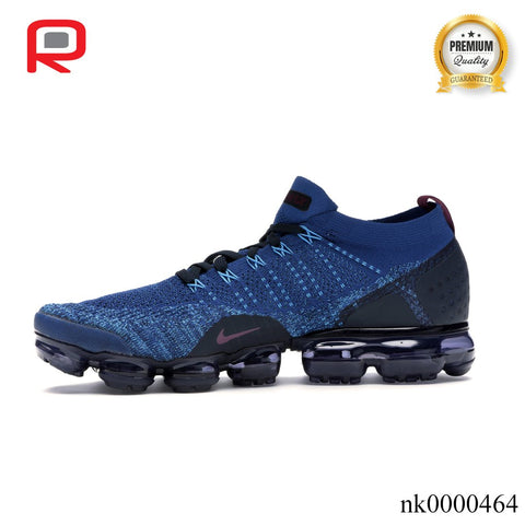 Image of Air VaporMax Flyknit 2 Gym Blue Shoes Sneakers