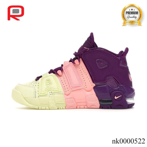 Image of Air More Uptempo Tri-Color Tint (GS) Shoes Sneakers