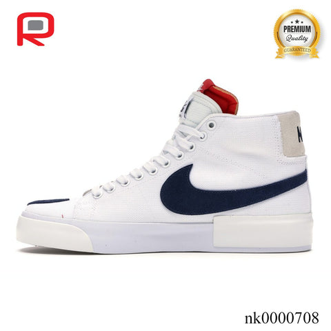 Image of SB Blazer Mid Edge Hack Pack White Shoes Sneakers
