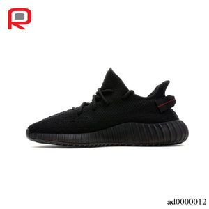 YzY Boost 350 V2 Black Red Shoes Sneakers