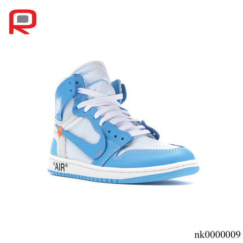 AJ 1 Retro High OW University Blue Shoes Sneakers