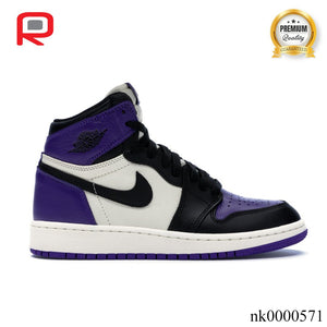 AJ 1 Retro High Court Purple (GS) Shoes Sneakers