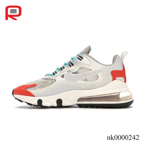 Image of AM 270 React Light Beige Chalk Shoes Sneakers