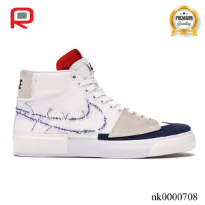 SB Blazer Mid Edge Hack Pack White Shoes Sneakers