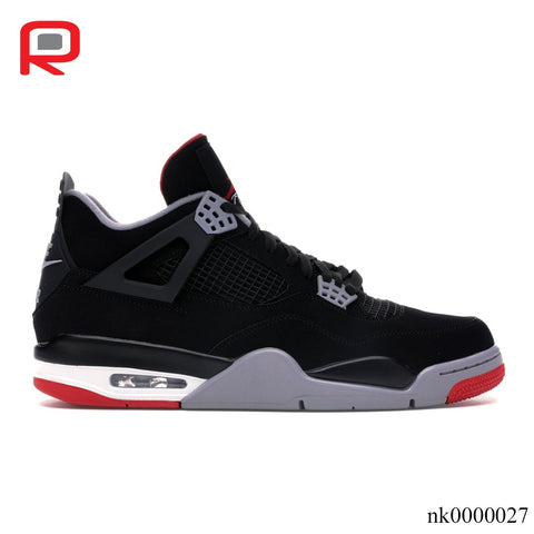 Image of AJ 4 Retro Bred (2019) Shoes Sneakers