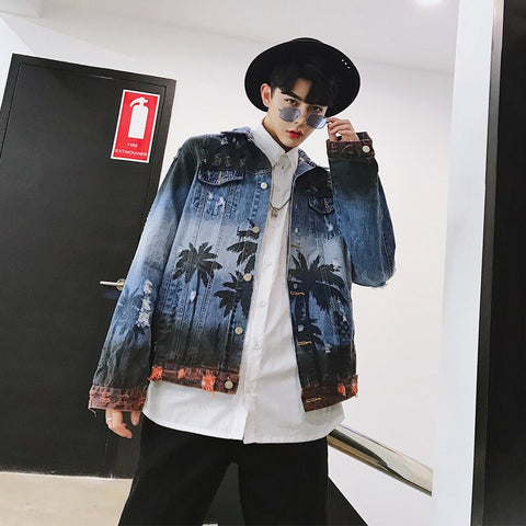 "Image of ""HAWAII"" DENIM JACKET"