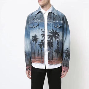 """HAWAII"" DENIM JACKET"