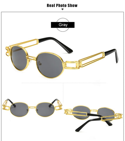 Image of Small Round Sunglasses