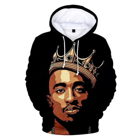 Hip Hop Gangsta Rap 2Pac Hoodies