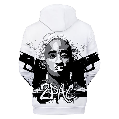 Image of Hip Hop Gangsta Rap 2Pac Hoodies
