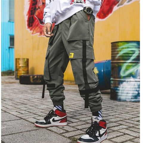 Men Hip Hop Cargo Pants 2020