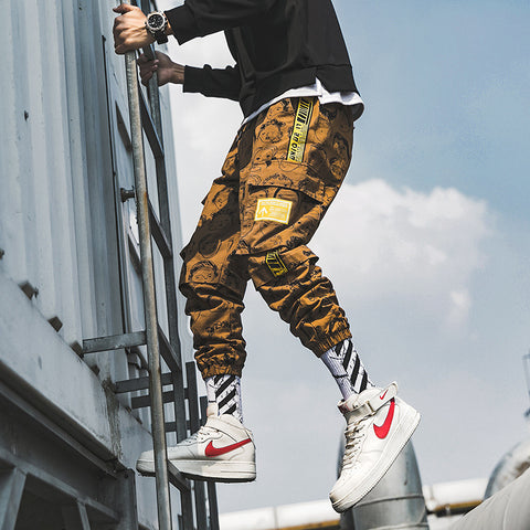 "Image of ""FREESOULS"" CARGO JOGGERS"