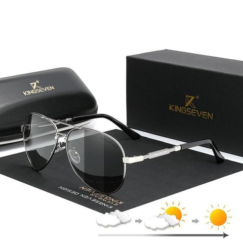 Image of Men's Aluminum Sunglasses Polarized Fishing Driving